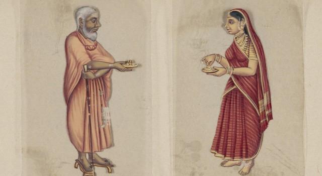 印度种姓七十二图例