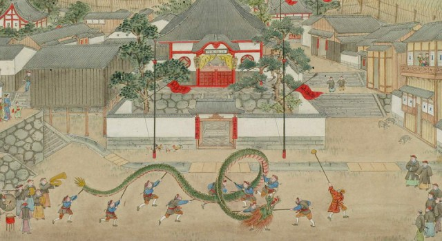 长崎港贸易绘卷