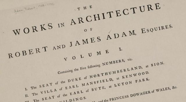 亚当兄弟的建筑书