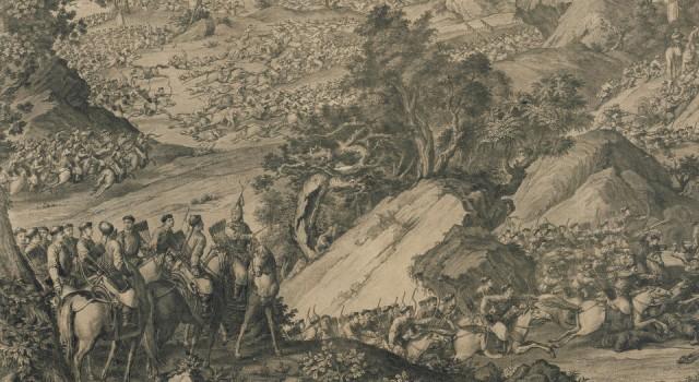 战争铜版画
