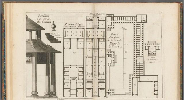 中国建筑、家俱、服饰、机械和器皿之设计