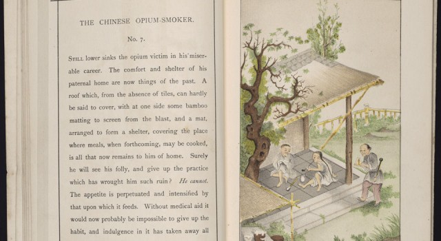 The Chinese opium-smoker