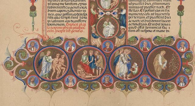 中世纪的装饰图案