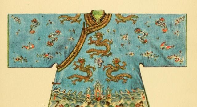 东方服饰:款式与色彩