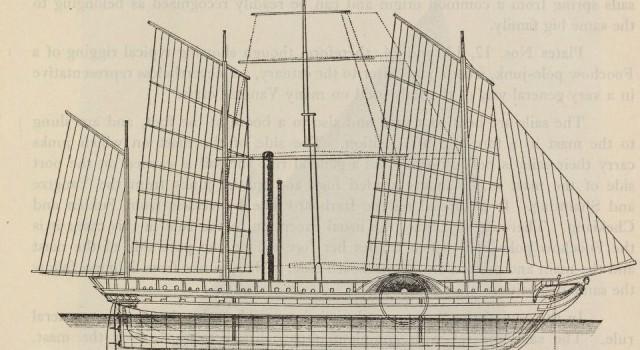 长江之帆船与舢板