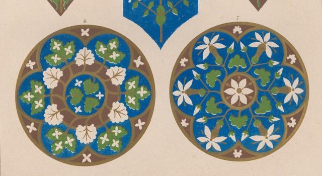 花卉装饰图案