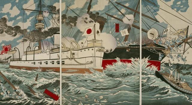 日清战争锦绘