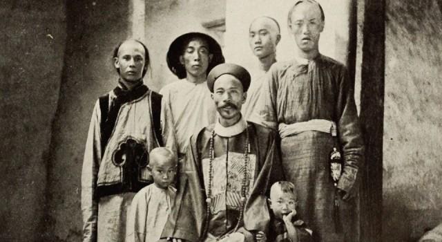 中国沙漠中的遗址