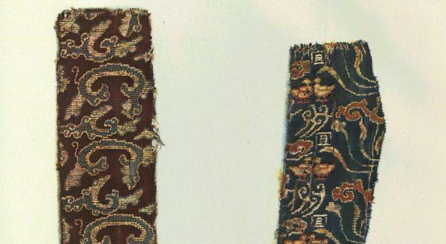 中国丝绸图案