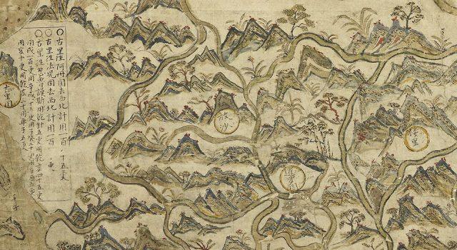 塞尔登中国地图