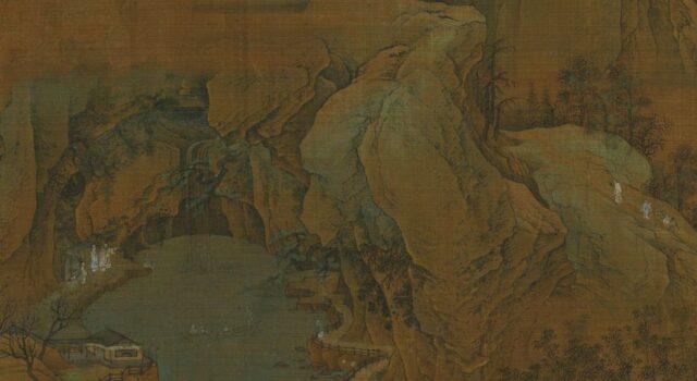 江山秋色图